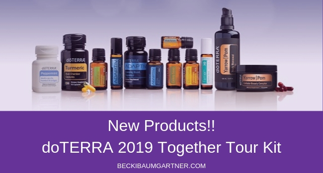 2019 doTERRA Together Tour Kit - New Products!