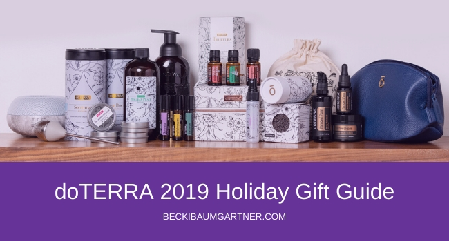 doTERRA 2019 Holiday Gift Guide