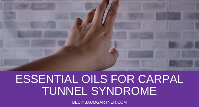 How to Naturally Soothe Carpal Tunnel Syndrome With Essential Oils