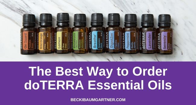 The #1 Best Way to Order doTERRA Essential Oils